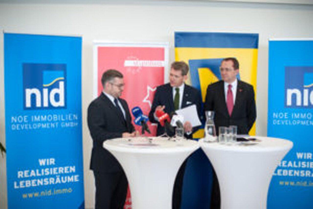 NID startet Niederösterreichs größtes privates Immobilienprojekt